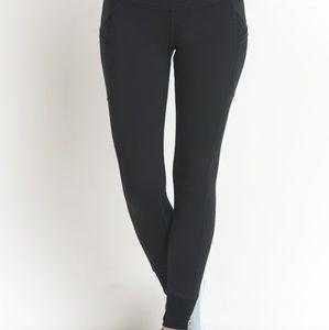 Pants - Black Skinny High Waisted Joggers